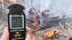 Incendio nei boschi di Chernobyl: radiazioni 16 volte superiori alla