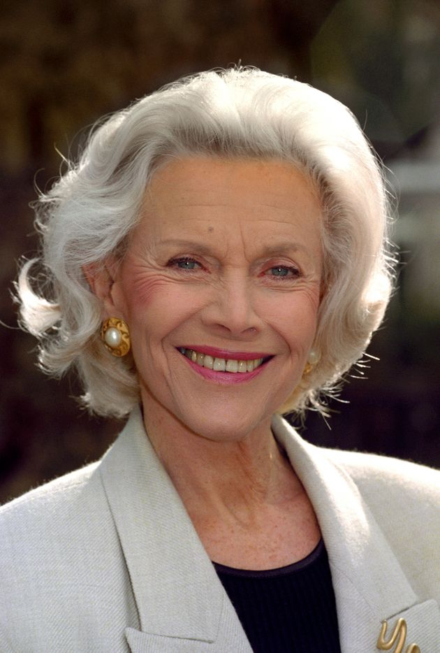 Honor Blackman pictured in