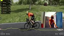 Así fue la competición virtual de Tour de Flandes a causa del