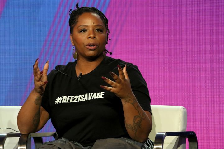 Patrisse Cullors has been fighting over-incarceration since 2012.