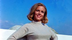 Honor Blackman, l'une des Bond Girls du film «Goldfinger», est