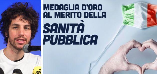 """Le Sardine a Mattarella: """"Dare agli operatori sanitari la me"""