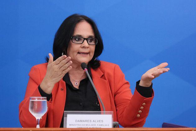 Damares Alves, ministra da Mulher, Família e Direitos