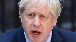 보리스 존슨 영국 총리가 중환자실로 병상을