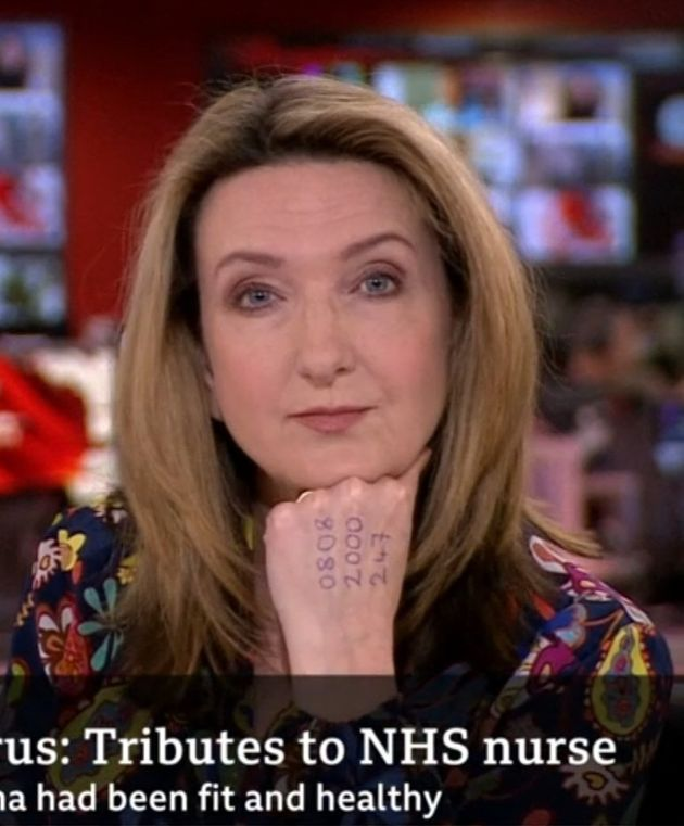 빅토리아 더비셔 BBC