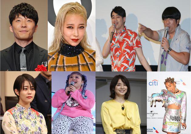 星野源さんが自身のインスタグラムで公開した楽曲「うちで踊ろう」に参加したアーティスト・芸能人たち