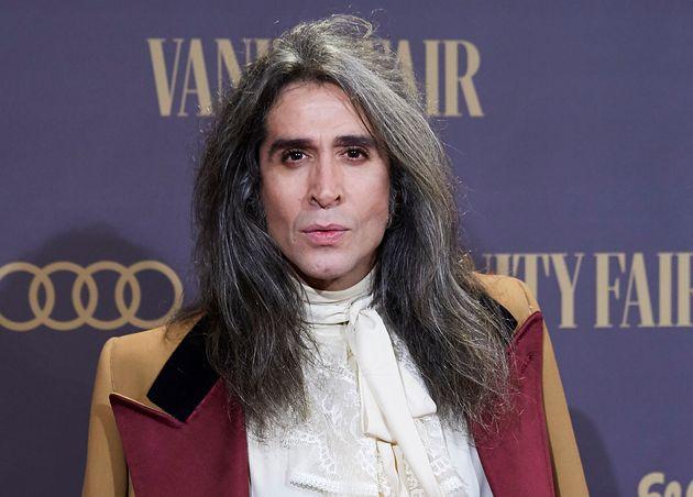 Mario Vaquerizo, en los Premios Vanity Fair el 25 de noviembre de 2019 en