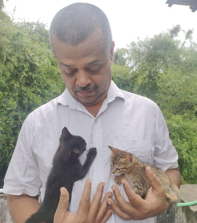 N Prakash and two of his