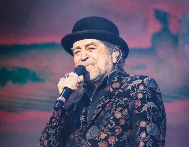 El cantante Joaquín Sabina, en el Wizink Center de Madrid el 12 de febrero de