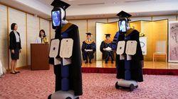 Ιαπωνία: Ρομπότ αντικατέστησαν πτυχιούχους στην ορκωμοσία τους λόγω
