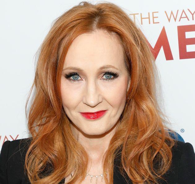 La escritora J.K. Rowling, en un estreno en Nueva York el 11 de diciembre de
