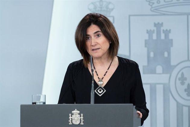 La doctora María José Sierra, jefa de área del Centro de Coordinación de Alertas y Emergencias