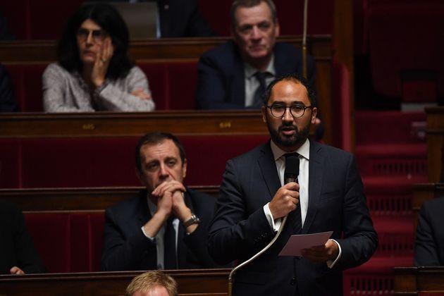 Le député LREM Guillaume Chiche à l'Assemblée nationale au mois d'octobre...