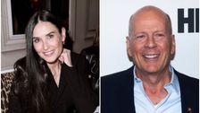 Demi Moore Und Bruce Willis Quarantäne Zusammen In Passenden Pyjamas