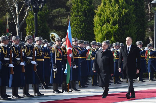 O πρόεδρος του Τουρκμενιστάν,Κουρμπανγκουλί