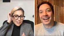 Lady Gaga Entschuldigt Sich Bei Jimmy Fallon Nach Dem Peinlichen Interview