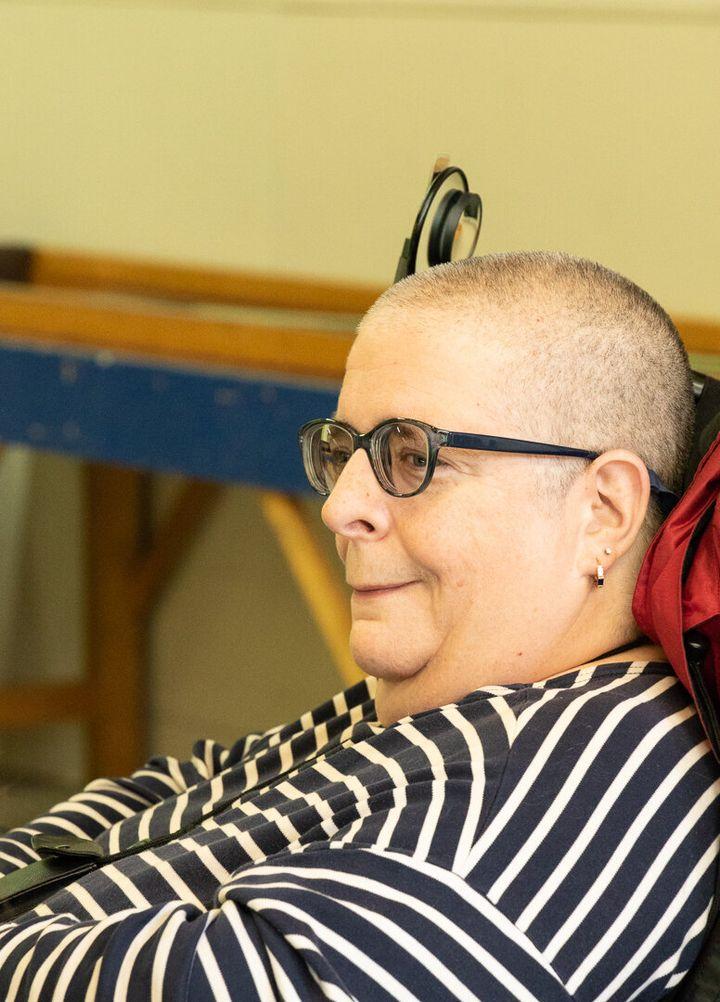Dominique Marsan, présidente d'Ex aequo et militante pour les droits des personnes handicapées