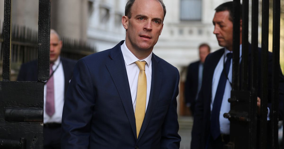 Watch Live: Dominic Raab Leads Daily Coronavirus Conference As Boris Johnson Remains In Intensive Care