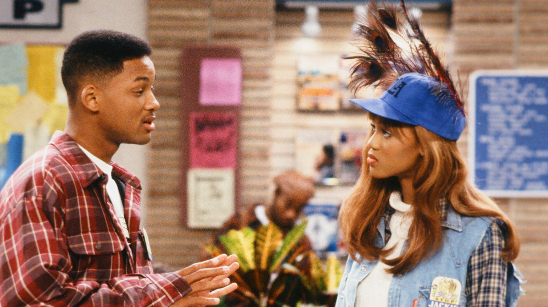 Will Smith And Tyra Banks Reenact Iconic 'Fresh Prince Of Bel-Air ...