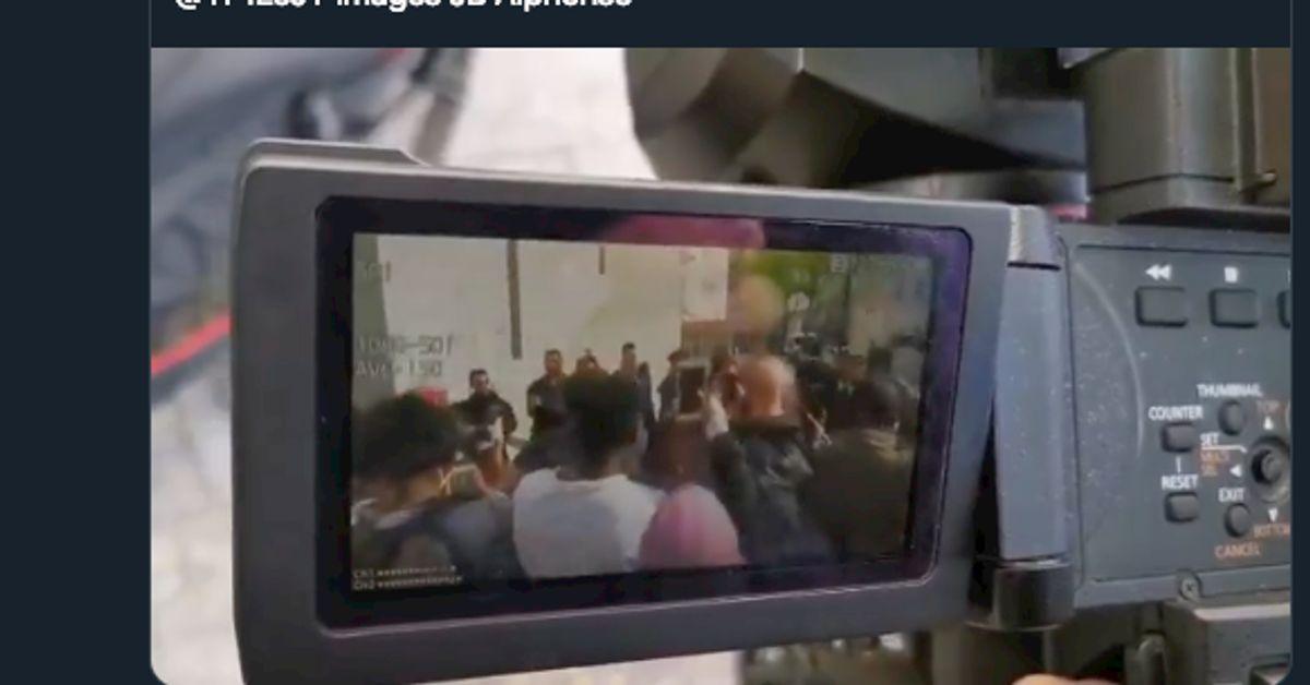 Macron provoque un attroupement en Seine-Saint-Denis, Le Pen consternée