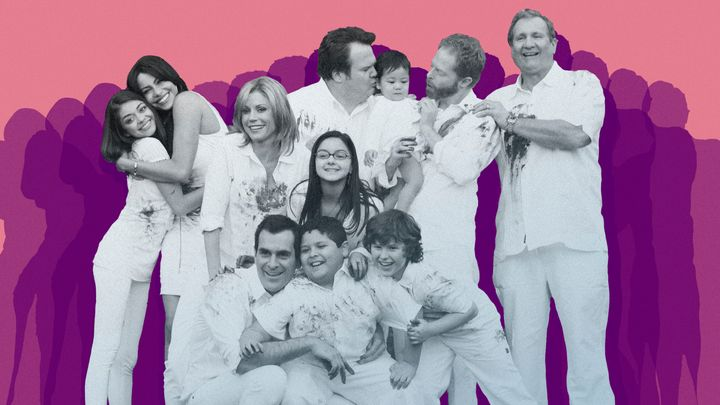 """The """"Modern Family"""" cast in 2010."""