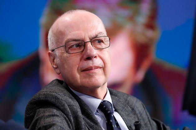 Giovanni Rezza, research director of the Istituto Superiore di Sanità, guest of the Porta a Porta television...