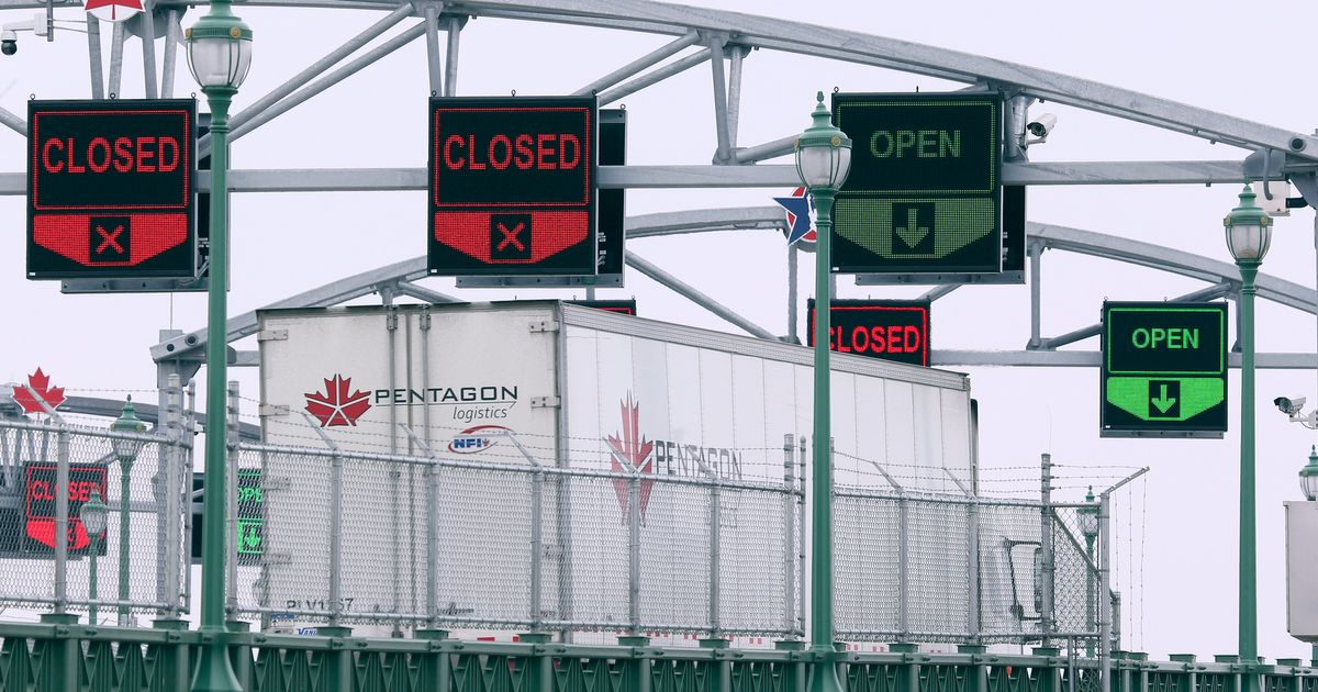 カナダのトラック運転手、COVID-19パンデミック時に国境を越える「リスクすべて」
