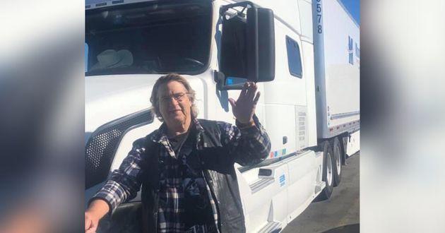 ゲイリークリールマン、70歳、トラックに電子レンジ、オーブントースター、