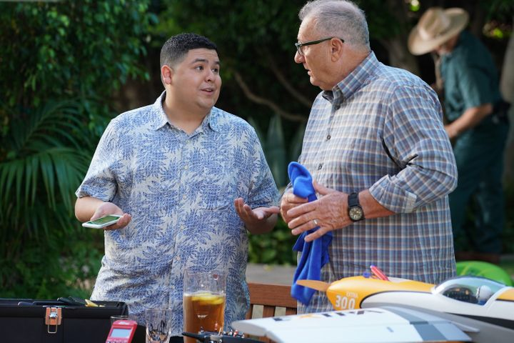 """Rico Rodriguez and Ed O'Neill in a Season 11 episode of """"Modern Family."""""""