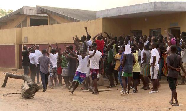 코트디부아르 시위