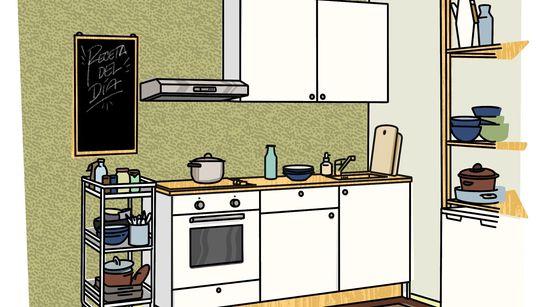 INSTRUCCIONES PARA... Montar tu sueño de tener una súper cocina para disfrutar de tu afición a los
