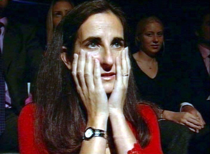 Diana watched her husband play the game from the audience