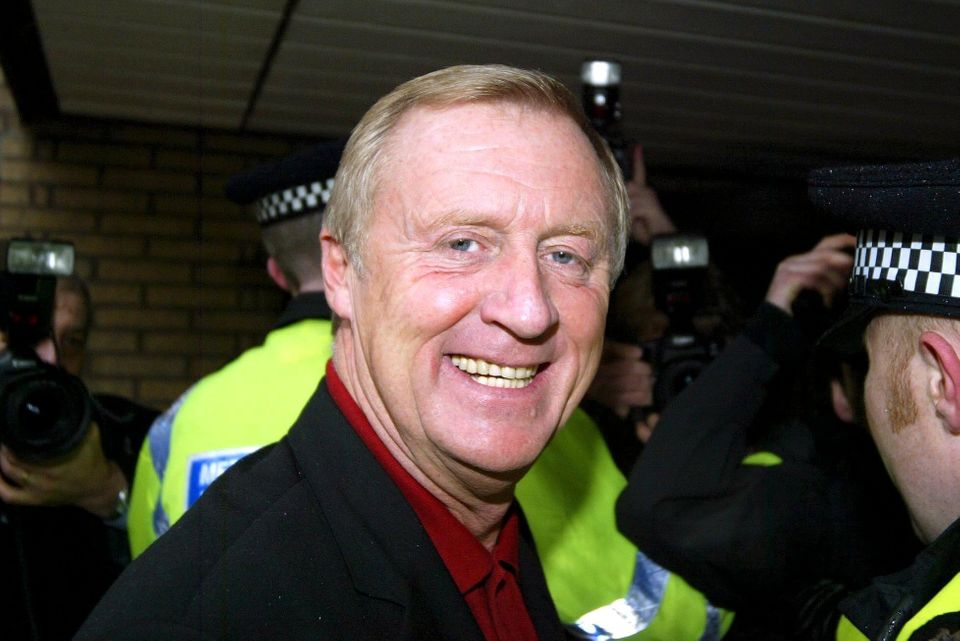 Chris Tarrant gave evidence during the case