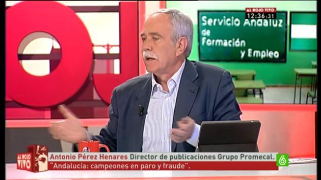 Antonio Pérez Henares en 'Al Rojo