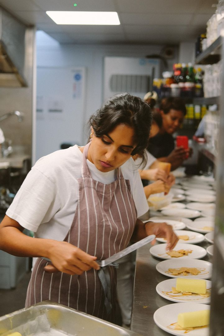 Pastry Chef and cookbook author Ravneet Gill