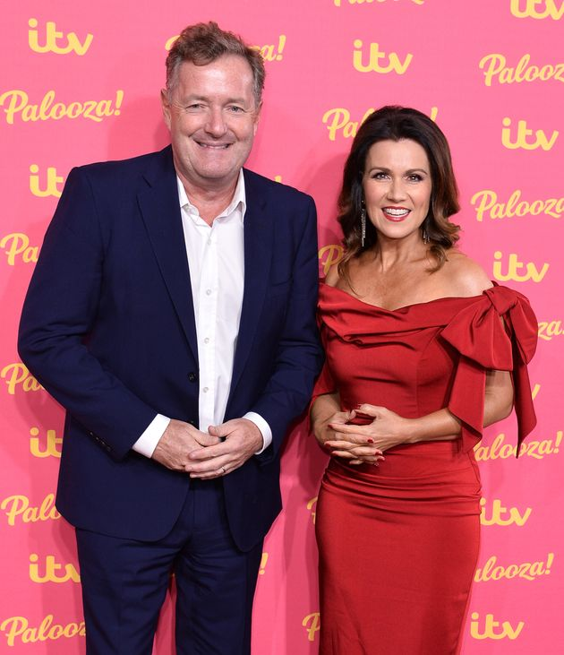 Piers and Susanna at last year's ITV