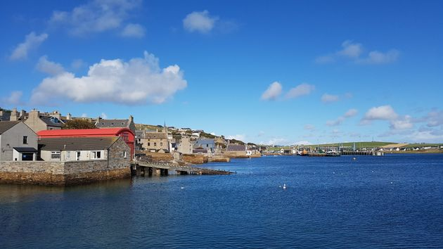Orkney, the author's home