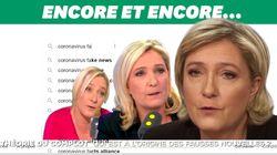 Sur les virus, Marine Le Pen flirte encore avec les thèses