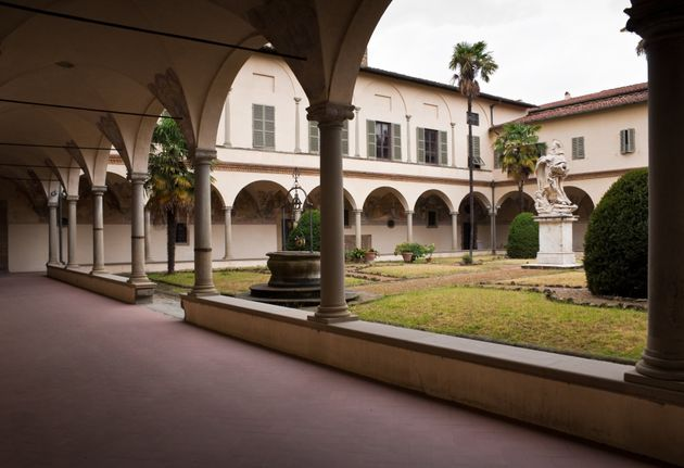 Cloister of San Marco convent in Florence,