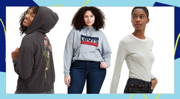 You'll be staying in in style with these finds from Levi's.