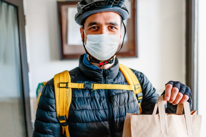 Tip delivery workers what you can. If you're in a financial position to do, add more of a gratuity than you would otherwise.