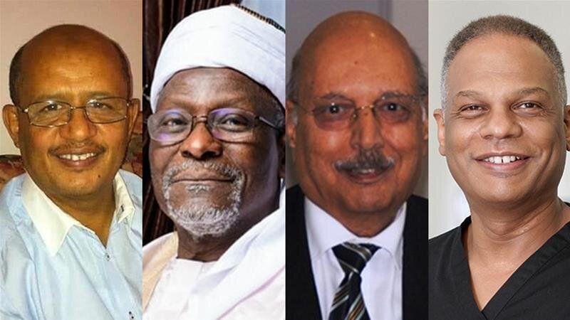 Adil El Tayar, Alfa Sa'adu, Habib Zaidi and Amged el-Hawrani