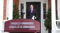 Trudeau Ends Coronavirus Self-Isolation With In-Person Cabinet