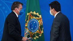 Bolsonaro e Mandetta tentam colocar panos quentes em