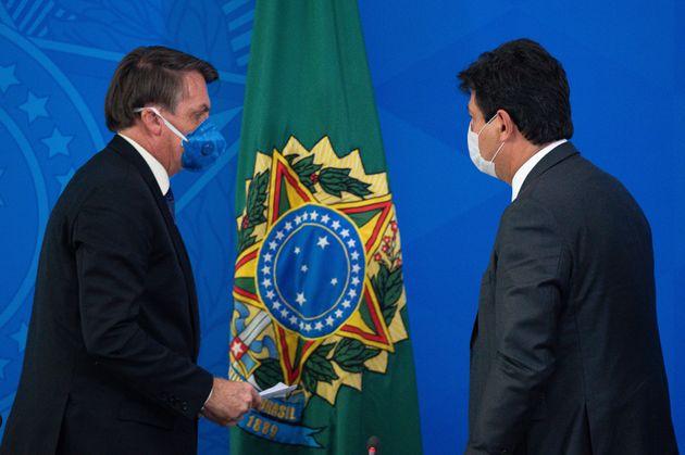 """Na quinta (2), Bolsonaro havia afirmado que Mandetta deveria ter """"mais humildade"""" e que nenhum..."""