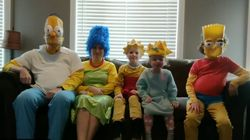 Bored Ontario Family Recreates 'Simpsons' Opening And Nails