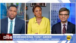 TV Host Robin Roberts Chokes Up In Tribute To 'GMA' Cameraman Who Died From