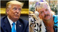 Donald Trump Says He'll 'Take A Look' At Tiger King Star Joe Exotic's Prison
