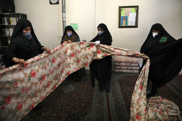 Εθελόντριες στο Ιράν...