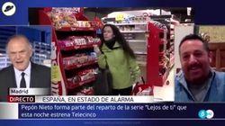 Piqueras da que hablar por esta frase a Pepón Nieto en Informativos Telecinco: sí, has oído